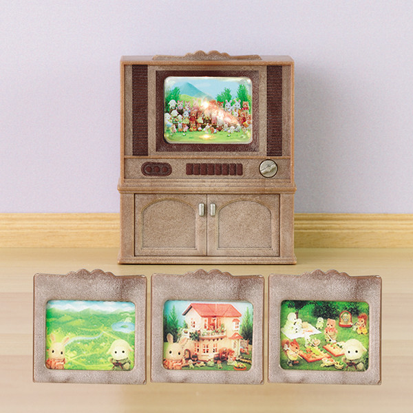 Televisor Color Luxury Sylvanian