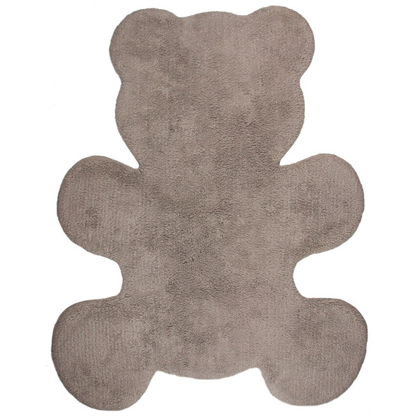 Alfombra infantil Little Teddy beige - marrón