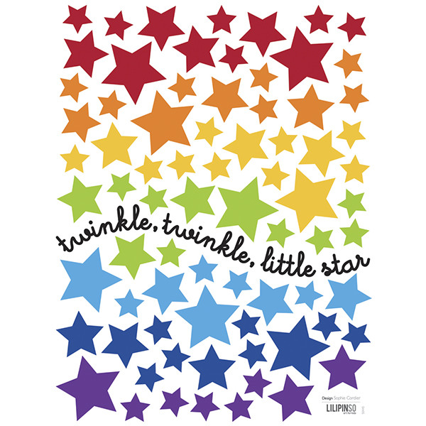 Pegatinas pared infantil Little Star