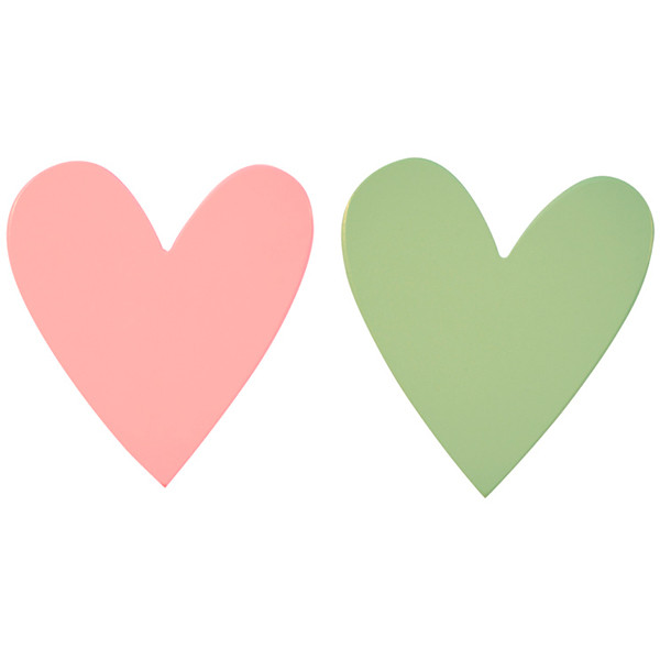 perchero-infantil-a-little-lovely-corazon-rosa-y-verde