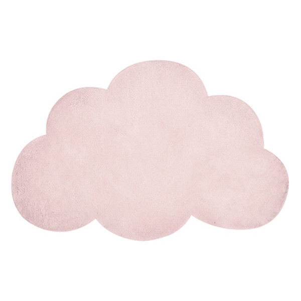 Alfombra infantil nube rosa Lilipinso