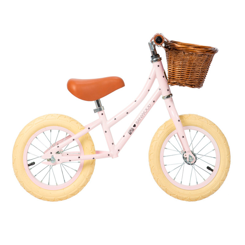 Bicicleta sin pedales First Go - Banwood Bonton Rosa