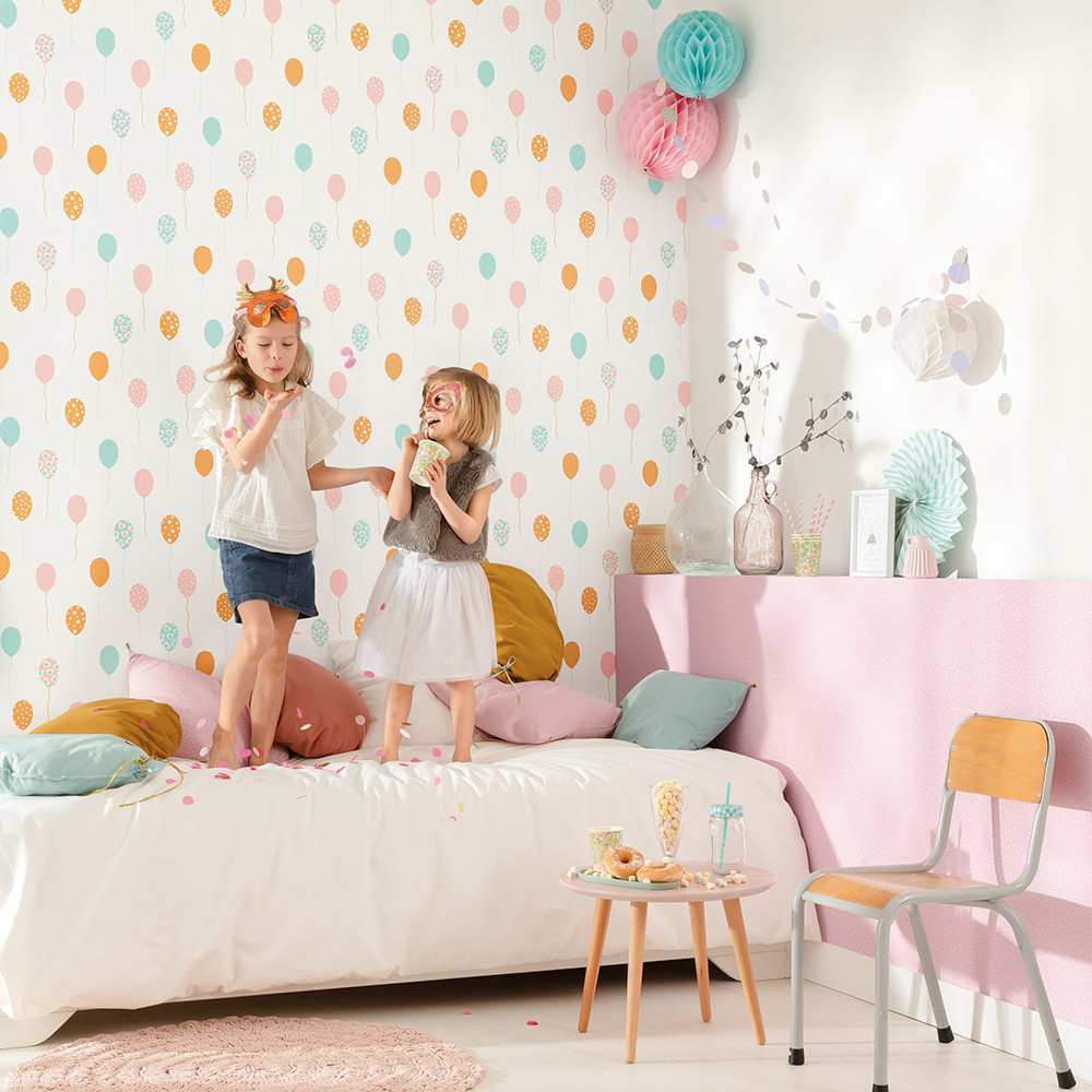 Papel pintado infantil Party Time