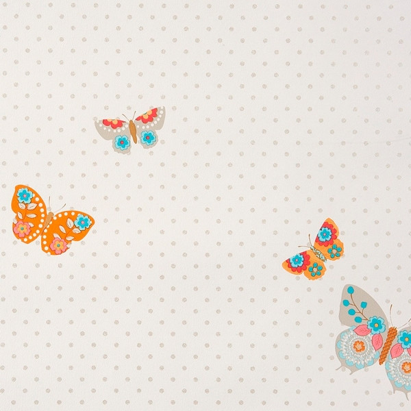Papel pintado infantil Mariposas Girls Only Caselio