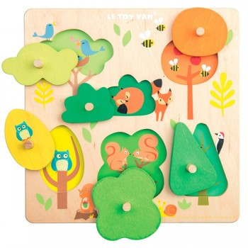 Puzzle madera Woodland Le Toy Van