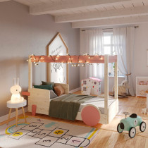 Litera infantil con dosel Discovery