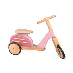 Scooter retro rosa Moulin Roty