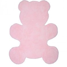 Alfombra infantil Little Teddy rosa