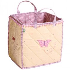 Bolsa para juguetes Casita mariposas Win Green