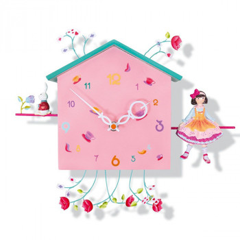 Reloj de pared infantil Alice