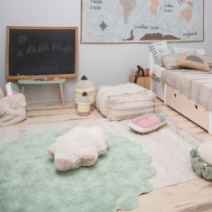 Alfombra infantil Lorena Canals lavable Puffy Sheep