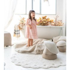 Alfombra infantil Lavable Lorena Canals Pine Cone Ivory