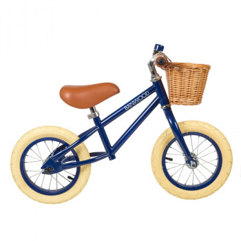 Bicicleta sin pedales First Go - Banwood azul