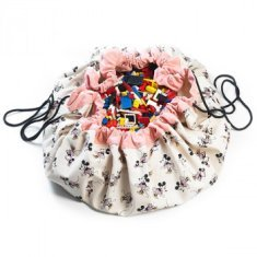 Bolsa para guardar juguetes Play & Go Minnie Gold