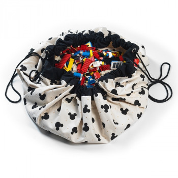 Bolsa para guardar juguetes Play & Go Mickey Black