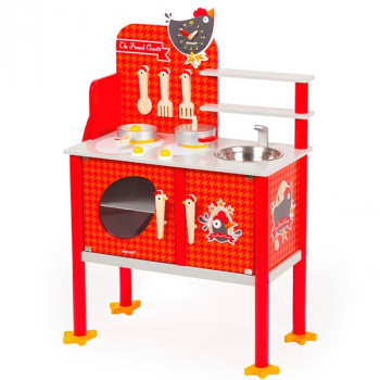 Cocinita de juguete Maxi Cooker the french Janod