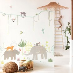 Mural infantil Jungle Happy Dreams Casadeco