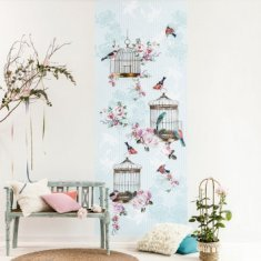 Panorámico Papel pintado infantil Caselio Ashley Birds