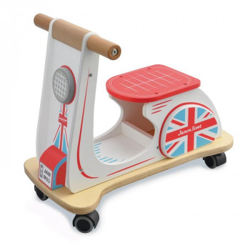 Scooter de madera Union Jack