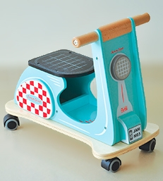 Scooters de madera