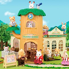 Escuela Sylvanian Families Country Tree